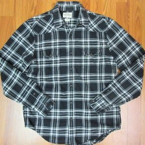 LUCKY BRAND REGULAR FIT Mens 100% COTTON FLANNEL